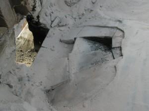 Briques desceller